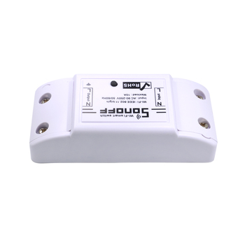 SONOFF Basic Wireless Wifi Switch Remote Control Automation Module DIY Timer Universal Smart Home 10A 220V AC 90-250V 1