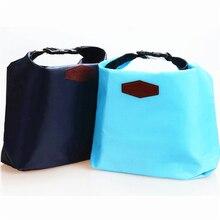 Портативный Тепловая Cooler Изоляцией Водонепроницаемый для детей Хранения сумка корзина Для Пикника pack Мешок Обед Мешок 4 цвета Нейлон
