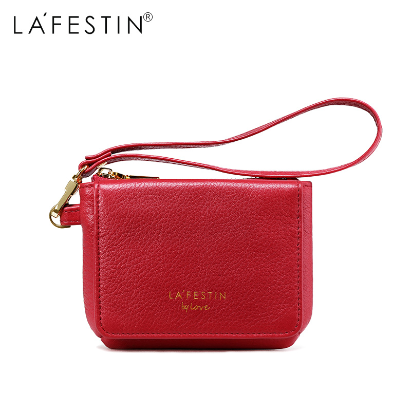 LAFESTIN Wallet Genuine Leather Fashion Coin Purse Money Bag Credit Card Holder Brand Female Clutch Bag Women Wallets cute women s wallet leather small wallet fashion credit card holder zip coin purse clutch handbags mini money bag hot sale page 3