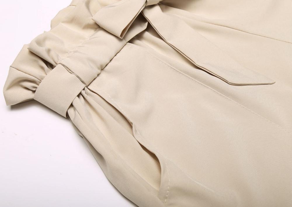 HTB19U2 NXXXXXaLXVXXq6xXFXXXE - High Waist Shorts Loose Shorts With Belt Woman PTC 59