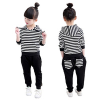 Hot Brand Children Sports Suit Toddler Tracksuit 4 6 7 8 10 11 Year Kids Jacket