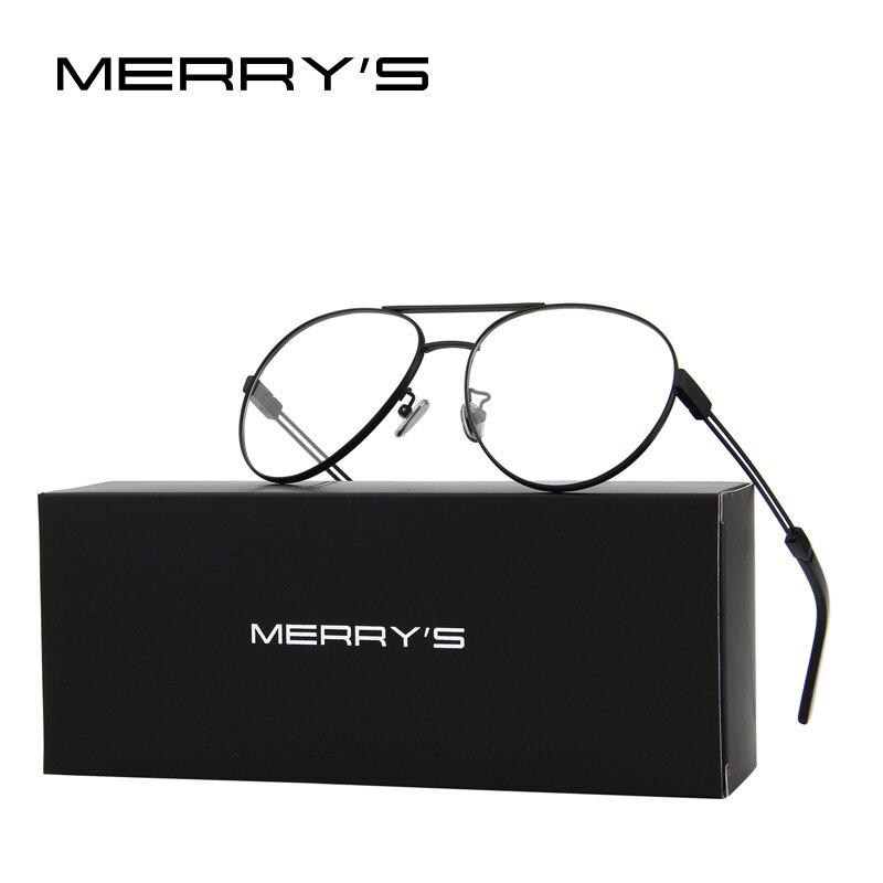 Design Männer/Frauen Mode Gläser Pilot Optische Rahmen Brillen S ...