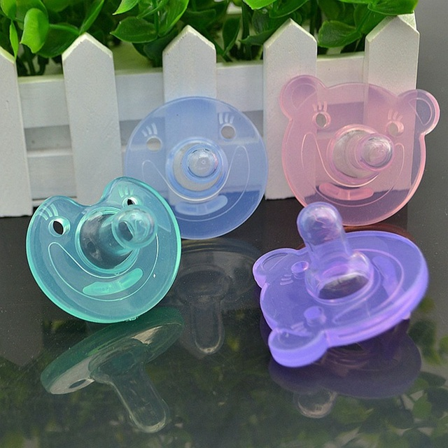 Orthodontic Silicone Baby Pacifier