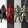 Star Wars figura de acción de juguete famoso general 2017 New star wars Clone Storm Trooper Boba Fett Darth Vader caballero Negro guardias Rojos