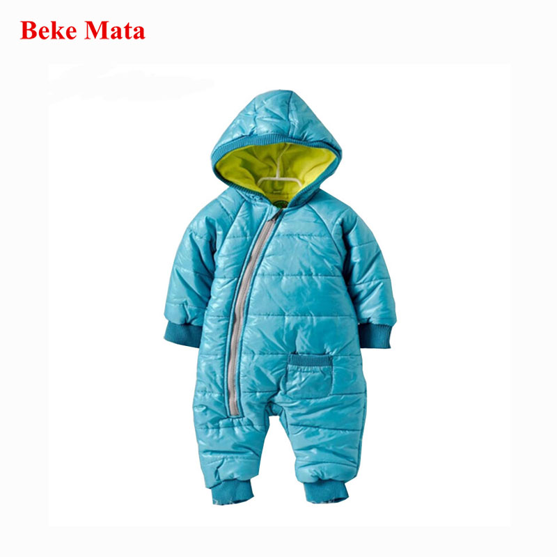 High Quality Baby Rompers Winter Thick Cotton Boys Costume Girls Warm Clothes Kid Jumpsuit Children Outerwear Baby Wear Overalls newborn baby girls winter coveralls boys padded thick cotton rompers kids warm jacket children outerwear clothes babt costume
