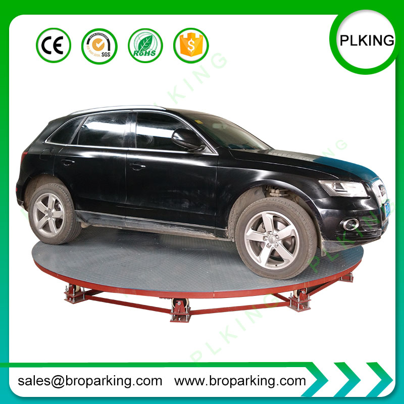 Electric Hydraulic Car Turntable Platform Lift For Auto