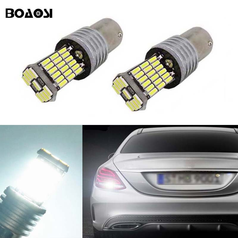 BOAOSI 2x 1156 4014SMD Cree Chips LED Car Rear