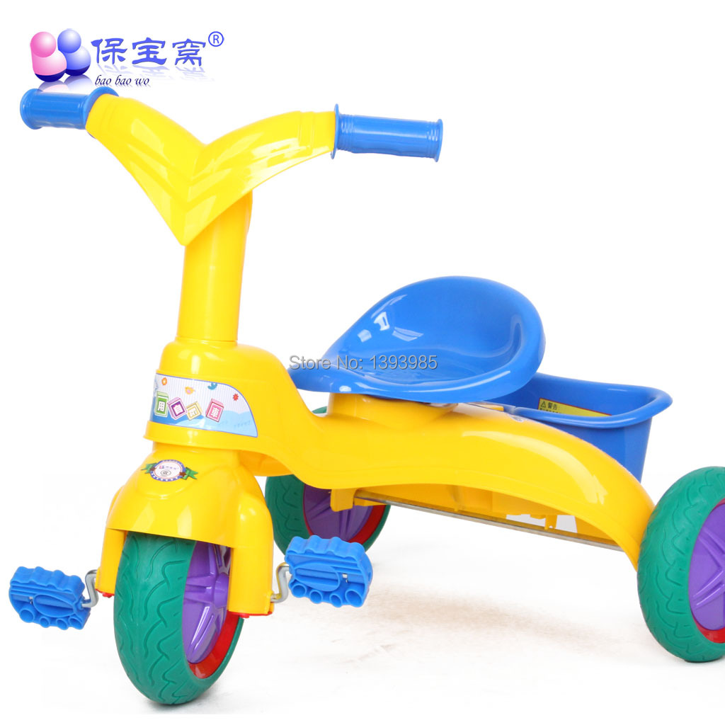 Rubber Wheel Baby Tricycle Child Bike Kid Bicycle Baby