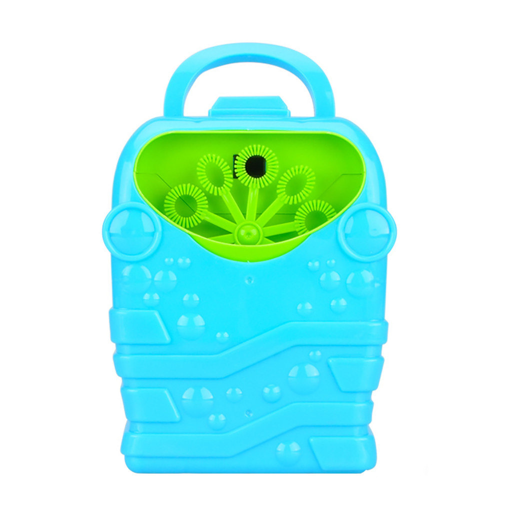 Bubble Machine Kids Durable Automatic Bubble Blower Outdoor Toy For Girl Boy Summer Outdoor Toy For Kids