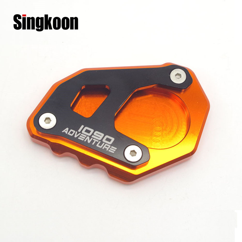 Aluminum Side Stand Kickstand Extension Pad For 1190 Adventure 1090 Adventure R
