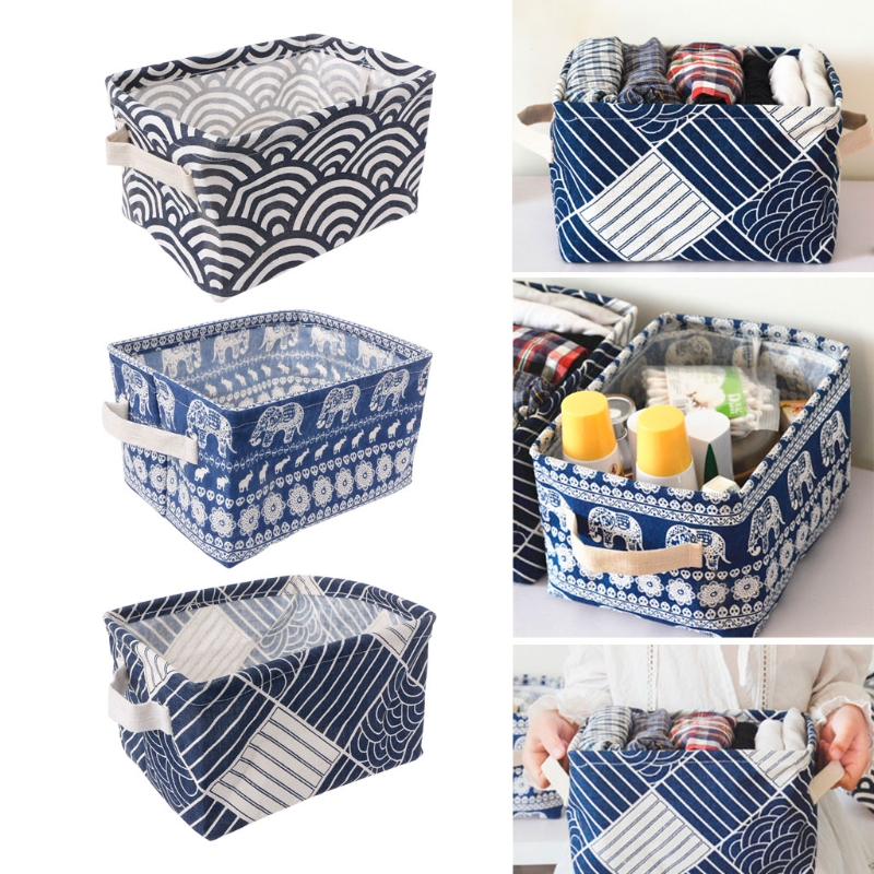 Desktop Makeup Organizer Underwear Socks Storage Laundry Bag Organizador rangement maquillage Basket Box Desk Organizer