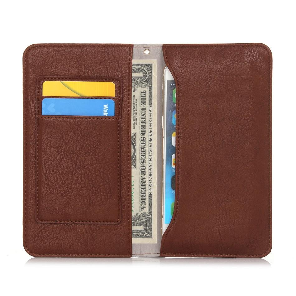 "Multifunction Magnetic Vintage Bag With Card Slots Handbag Bags Leather Cover Case For asus zenfone max zc550kl 2 ze551ml 5.5"""