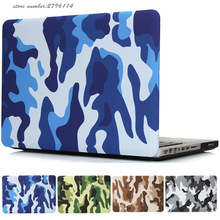 For Macbook Air 11 13 Case Military Camouflage Hard plastic Protect Shell For Apple