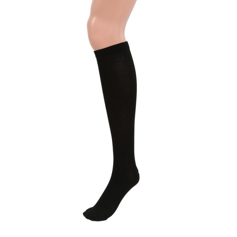 Casual Thigh-High Compression Stockings Varicose Vein Stocking Travel Leg Relief Pain Support 29-31CM