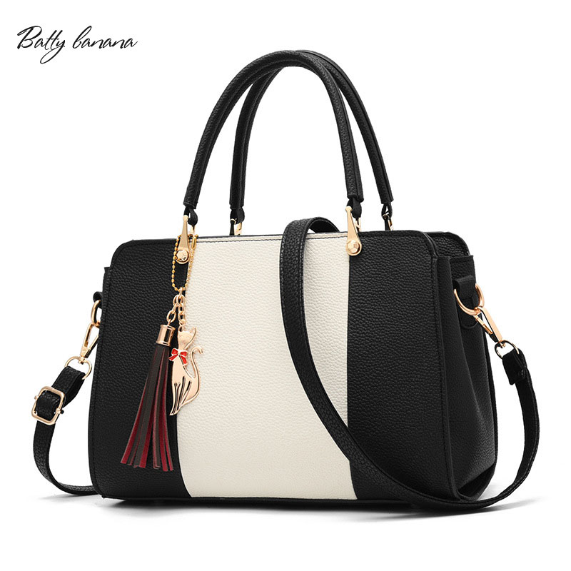 BATTY BANANA Luxury Handbags Women Bags Designer Shoulder Bag Female Large Capacity Women Leather Handbags Top-Handle Bags hot sale fashion women leather handbags large capacity top handle bags designer female hobo messenger shoulder bags evening bag