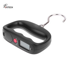Belt Hanging-Scale Hand-Hook Luggage Digital Kitchen Backlight with for LCD 50kg/10g