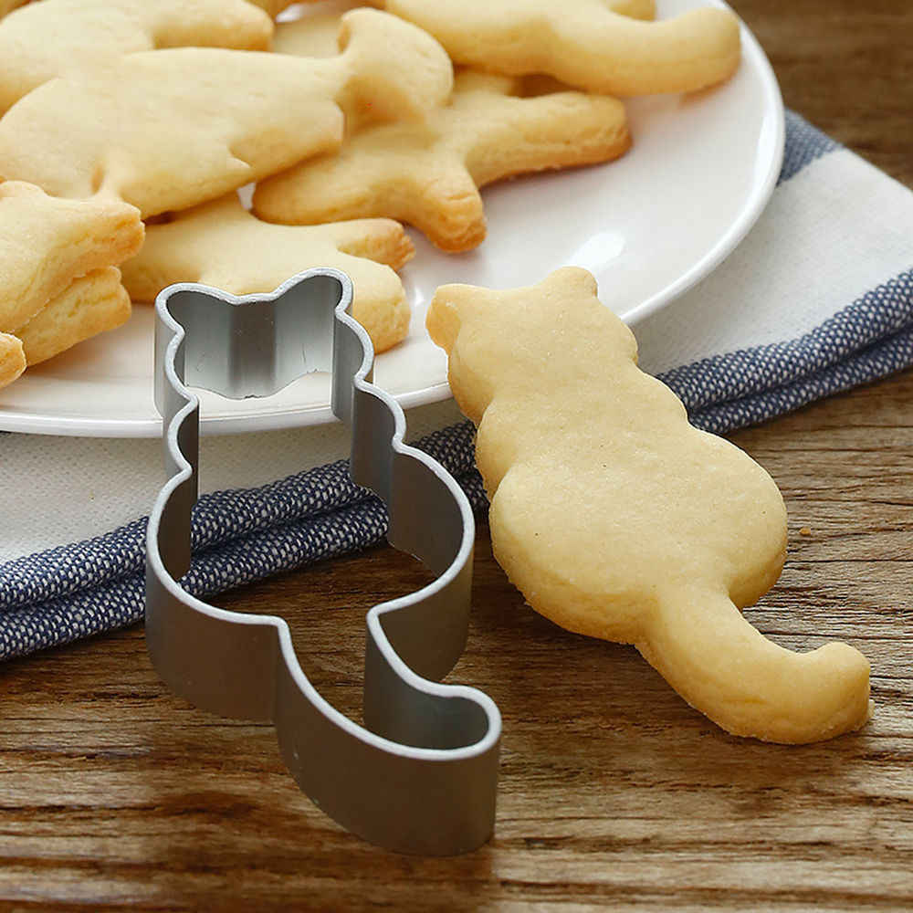 Bakeware New Stainless Steel Cookie Biscuit Cutter Mold Cake Fondant Baking Pastry Tools Baking Cutter Moulds