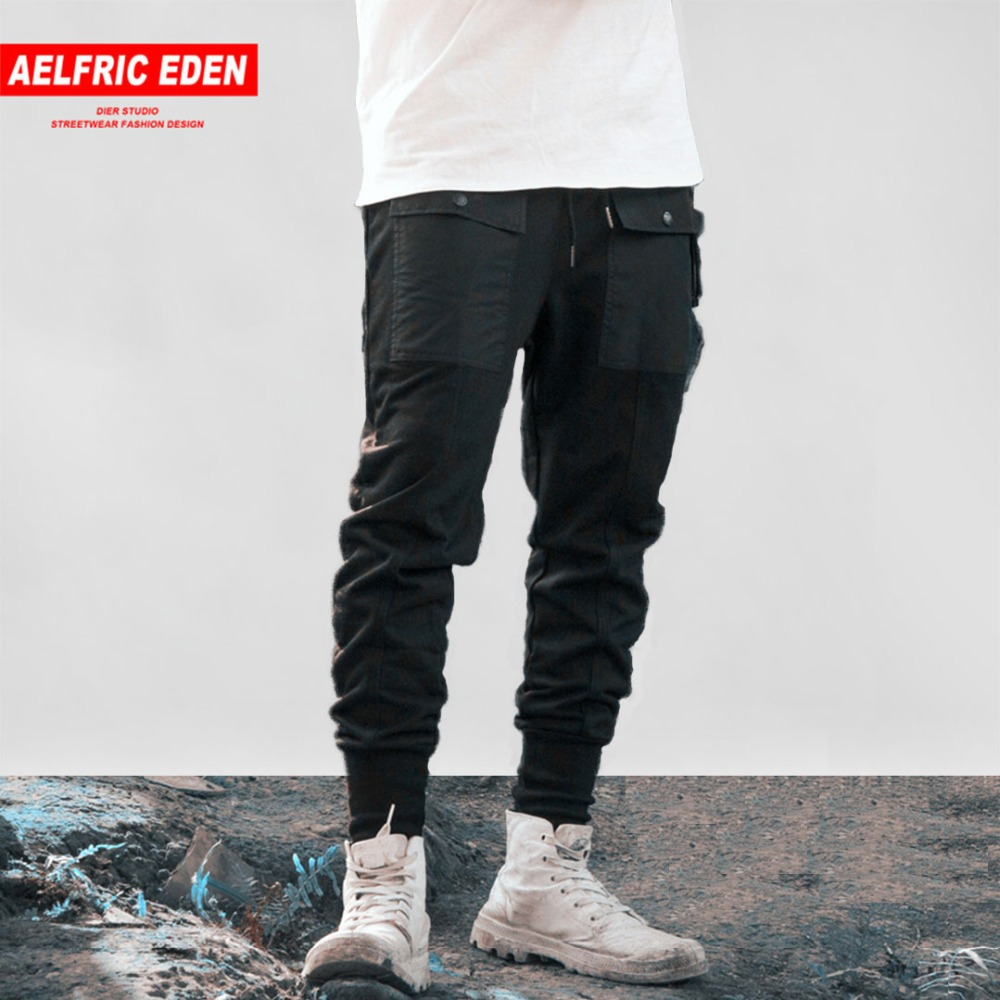Men's Clothing Clever Japanese Retro Casual Pants Men Color Matching Splicing Legs Haren Pants Youth Street Fashion Hip Hop Trousers Pants