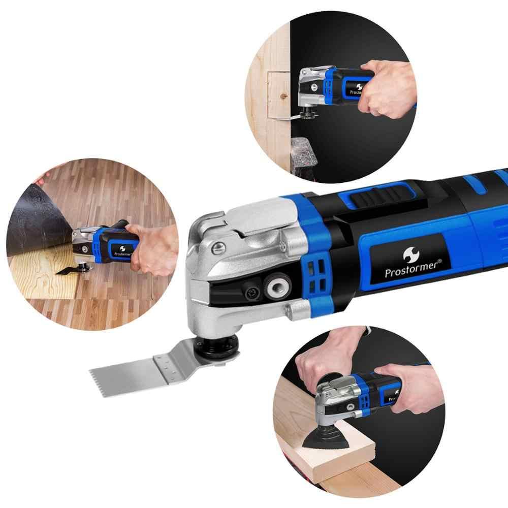 Prostormer Variabel Kecepatan Renovation Grant Listrik Multifungsi Tray Kit Multi-Alat Dekorasi Rumah Trimmer Gergaji Listrik