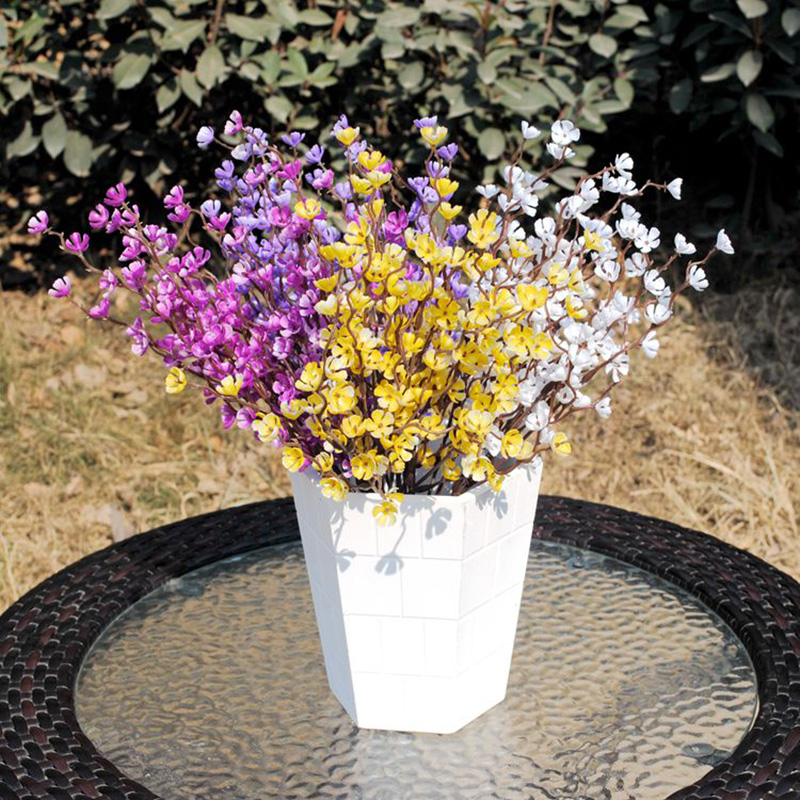 37cm Artificial Flowers Plum Blossom Simulation Flower For Wedding Office Decoration Fake Flowers Home Decor Sztuczne Kwiaty