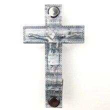 Jesus Cross, outdoor portable EDC multi-tool, metal key storage, bottle opener