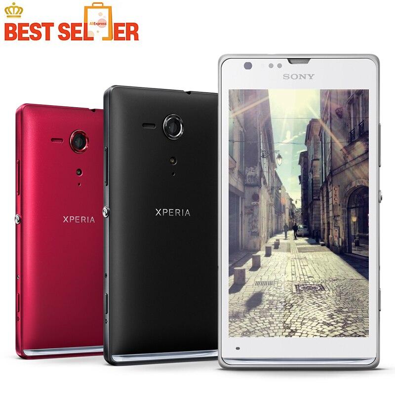 bilder für Sony Xperia L S36h Ursprünglicher Freigesetzter Handy C2105 C2104 8MP WIFI GPS 3G Jelly Bean android 4.1 Kostenloser Versand
