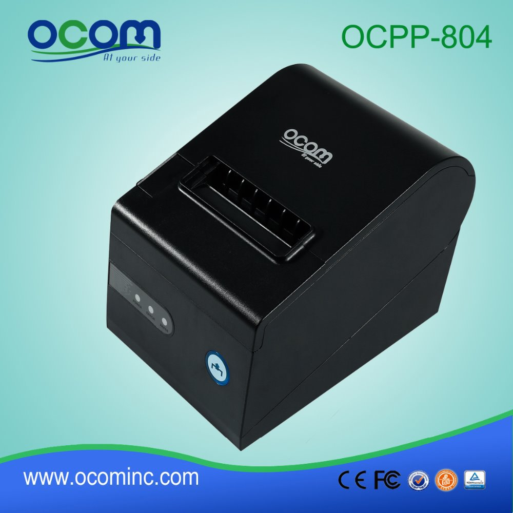 OCPP-804-URL Serial USB LAN Interface Together 80MM Thermal Printer with Auto Cutter