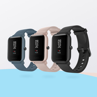 Global Version Amazfit Huami Bip Lite 2 Original xiaomi Smart Watch GPS 45Days Long Battery Gloness Heart Rate HUAMI Smartwatch