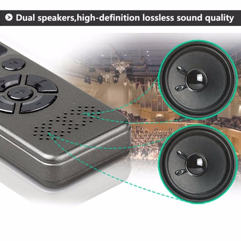 Mini enregistreur vocal numérique Portable avec Microphone carte d'extension TF maximale de 64 go pour toute Occasion enregistrement en WAV/Mp3 - 4
