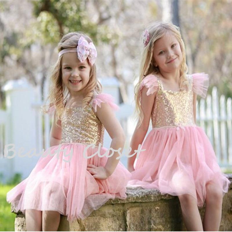 Adorable children girl sequin tulle dress shabby chic kids - Cuadros shabby chic ...
