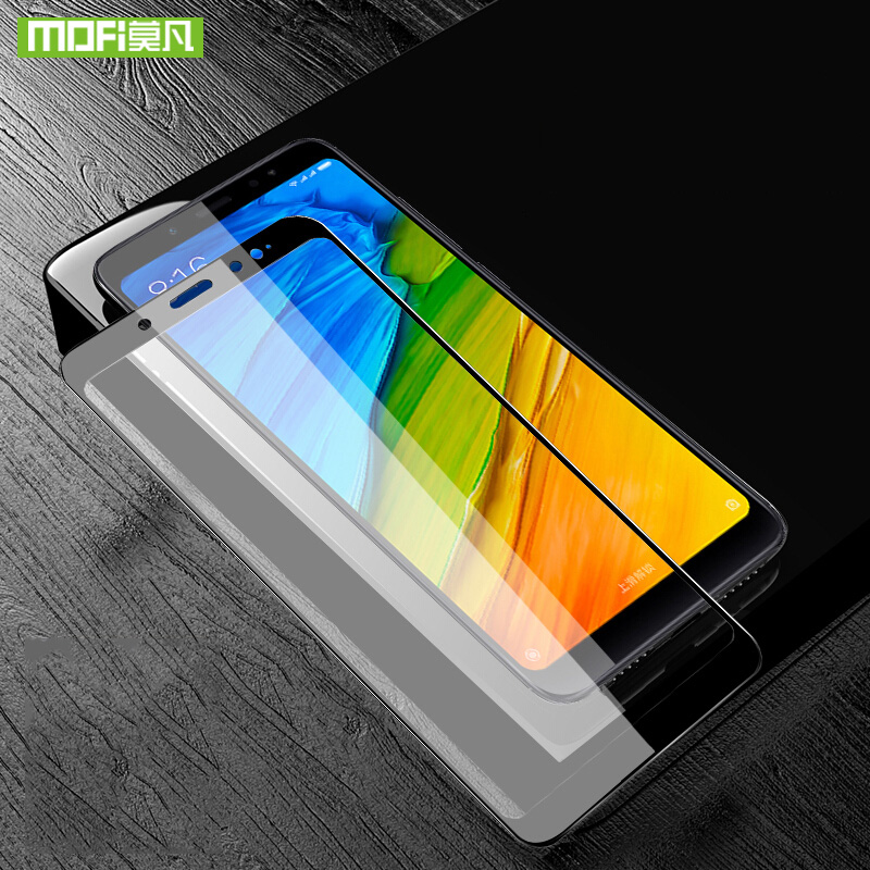 Mofi Pour Xiaomi redmi Note 5 Pro protecteur d'écran Pour Xiaomi redmi Note 5 Pro en verre trempé film de couverture 3D Courbe 9 H Note5 Pro