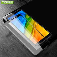 Mofi para xiaomi redmi nota 5 pro protetor de tela para xiaomi redmi nota 5 pro capa de filme de vidro temperado 3d curvado 9 h note5 pro