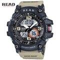 Роскошные Мужчины Спортивные Часы Цифровые Часы LED Резиновые Военные Часы Водонепроницаемые Наручные Часы Relógio Masculino