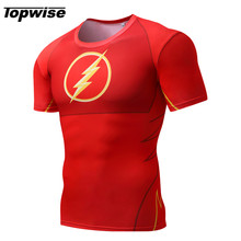 2017 Mens Compression Shirt Short Sleeve Running T-Shirt Sport Jogging Fitness Tight T-Shirt Training Exercise Skull Tee Tops