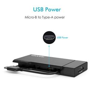 Image 5 - מלא HD הכפול 2K קומבו מיני עגינה תחנת USB 3.0 רכזת SD כרטיס קורא Gigabit Ethernet רכזת רב תצוגת HDMI/VGA עבור Mac חלון