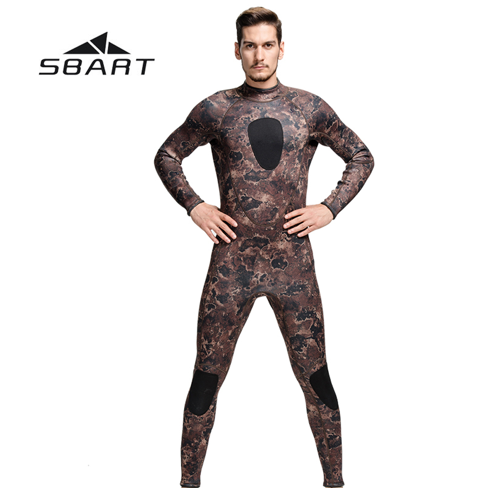 Sbart One-Piece Men 3mm Neoprene Winter Wetsuit Keep Warm Camouflage Swimwear Long Sleeve Diving Suit Underwater Full Body Suit 50pcs bt137 600e to 220 bt137 600 bt137 triacs logic level 600v 8a