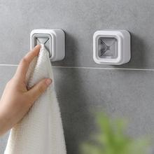 Home Portable Wall Mount Twoel Storage Wash Cloth Clip Organizer Dry Towel Holder Self Adhesive
