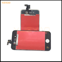 YUEYAO 2PCS LOT Top Quality LCD Display For IPhone 4 4S Touch Screen With Digitizer Assembly
