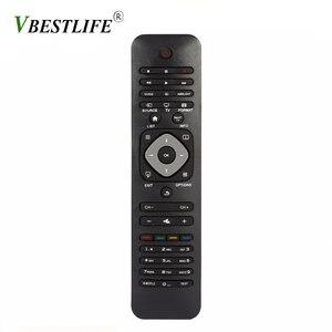 Image 1 - VBESTLIFE אוניברסלי חכם IR שלט רחוק עבור פיליפס LCD/LED 3D חכם טלוויזיה טלוויזיה בקר שחור חכם בית