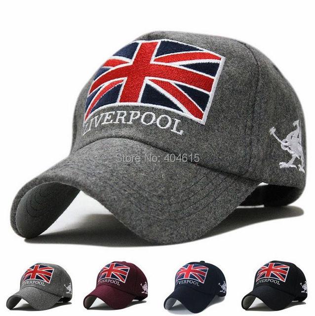 db81f75c3908dd Wholesale adult winter popular sport hat women and men casual letter  embroidery wool felt baseball caps