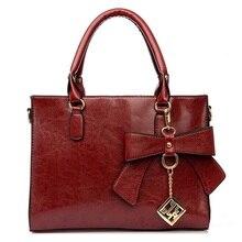 New Women Leather Handbags Bow Female Shoulder Bag Briefcases Bolsas Femininas Neverfull Bolsa Sac A Main Femme De Marque 2016