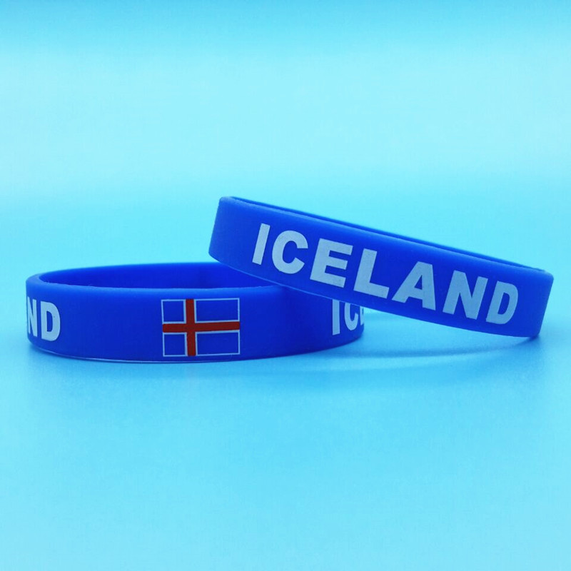 100pcs Iceland Flag Sport...
