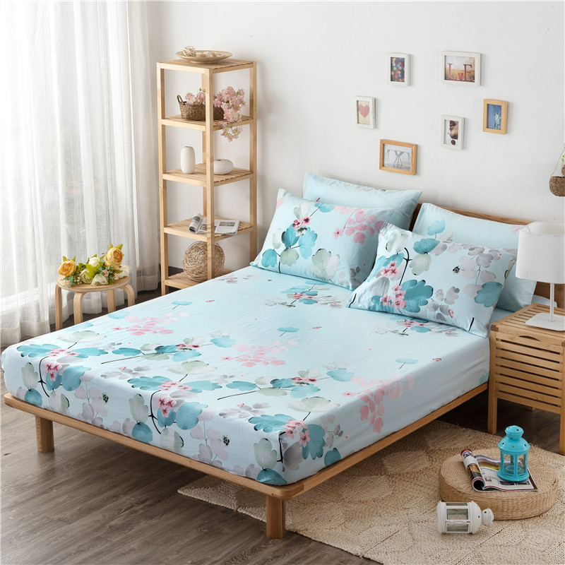 Aliexpress com   Buy 3 PCs 100  Cotton Fitted Sheet Anime Bed Sheets Cotton  Mattress Cover 2 Same Pillowcase 220X200cm Size 21colors On Sale from  Reliable. Aliexpress com   Buy 3 PCs 100  Cotton Fitted Sheet Anime Bed