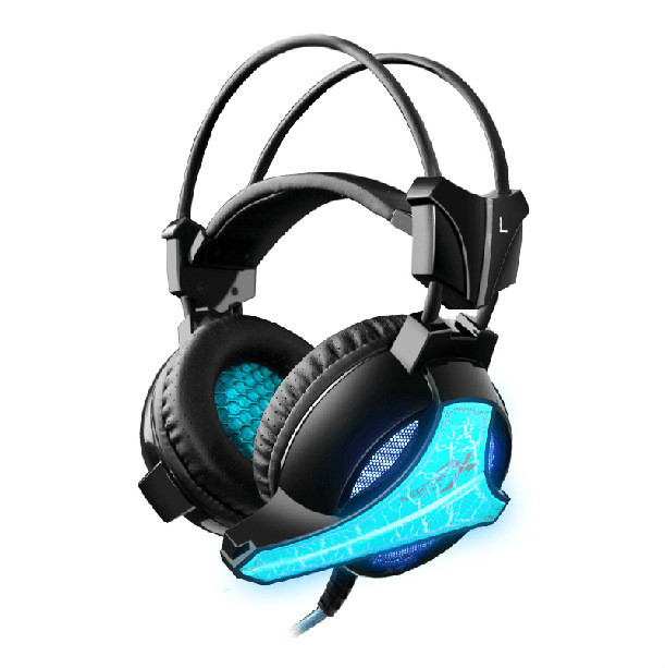 ZG113 Gaming Headset Glowing Headphones with Microphone headset for PC Computer Surround Stereo Universal LED Wired