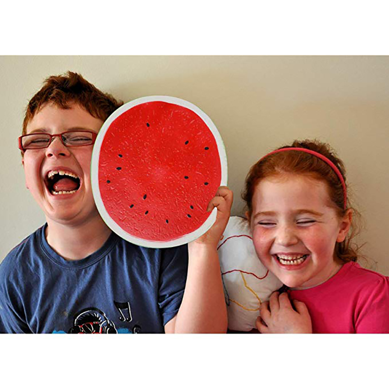 Smooshy Mushy Squishes Watermelon Giant Squishy Antistress Squeeze Toy Slow Rising Squishy Gigante Stress Relief Toy Kids Gift
