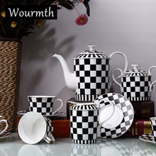 Wourmth European Style Classic Bone China Porcelain 8 Sets