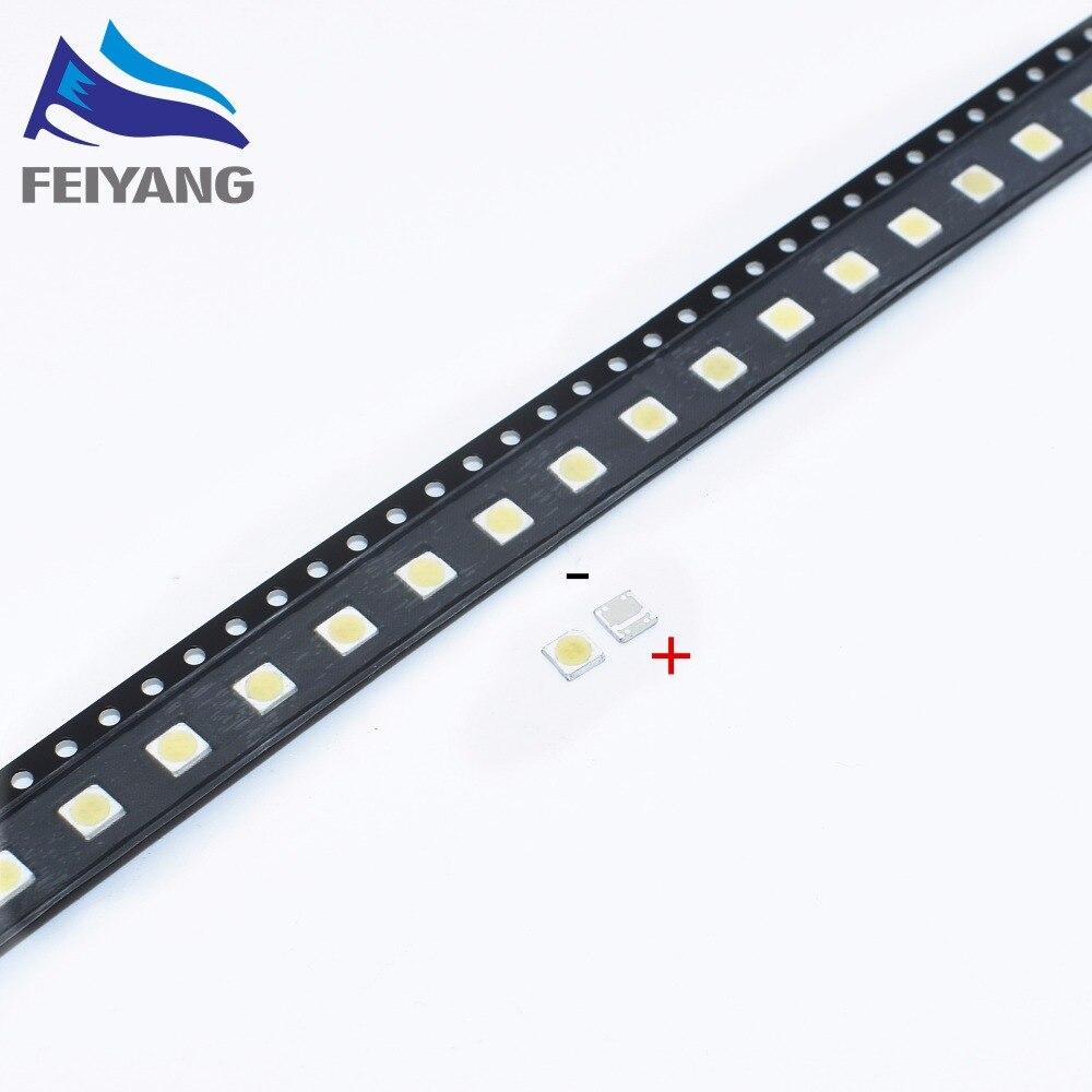 1000pcs FOR WOOREE High Power LED LED Backlight 2W 6V 3535 150LM Cool white LCD Backlight