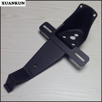 XUANKUN Cafe Racer Retro Motorcycle Modified Tail Lamp Bracket License Plate