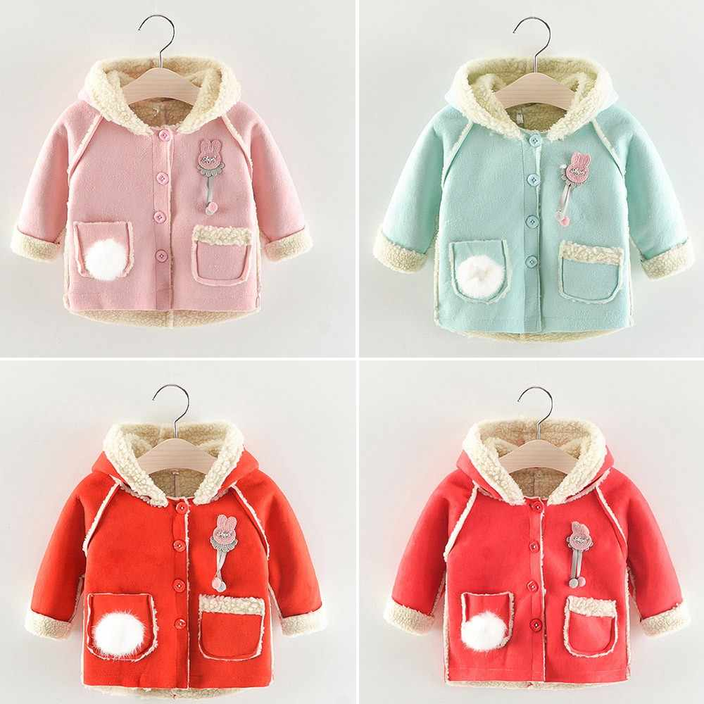 cbb079337 Detail Feedback Questions about Trendy 2018 Girls Coat Kids Baby ...