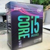 Intel PC компьютер Core i5 8 серии процессор I5 8600 К I5 8600K процессор в штучной упаковке Процессор LGA 1151 land FC LGA 14нанометров шесть основных